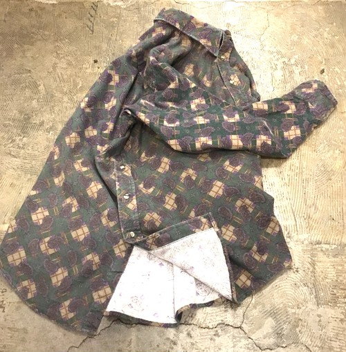 LIKE THIS LIKE THAT : pullover print flannel shirt (remake)