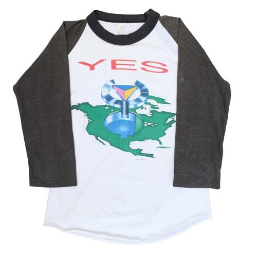 Yes 80sVintage Raglan T-Shirts