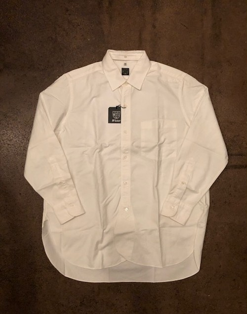 "WESTER   ""R.A.F SHIRT(WHITE、US OXFORD)"""