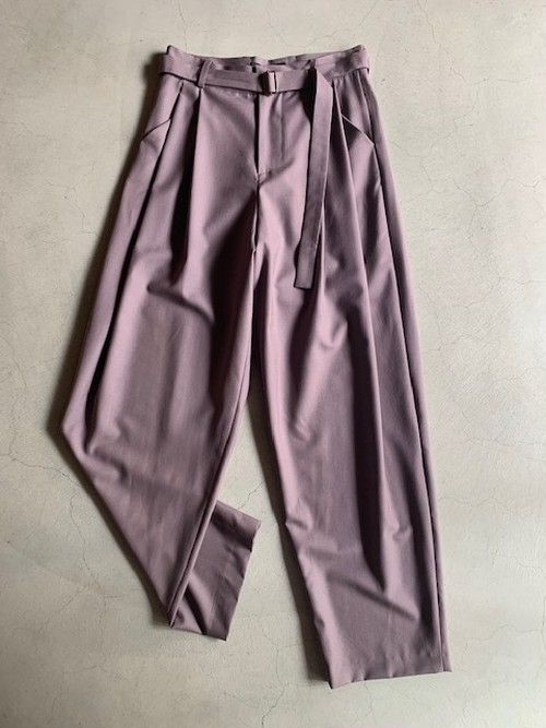 EDWARD CRUTCHLEY PLEAT FRONT TROUSERS