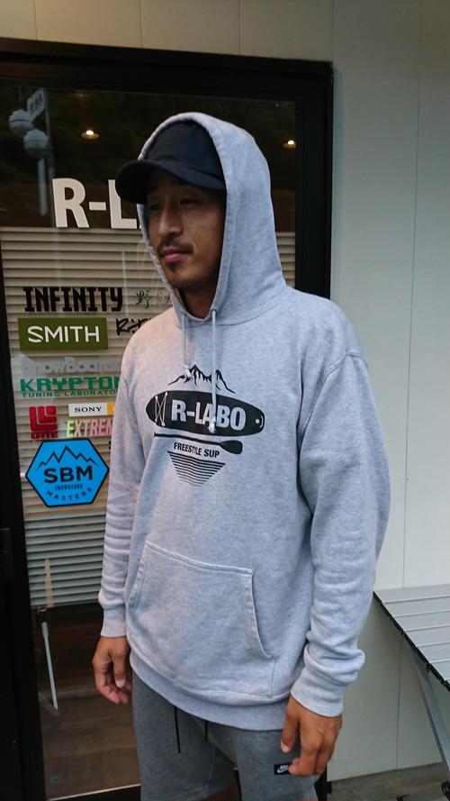 R-LABO パーカー(グレー)