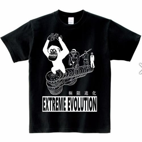 極限進化Tシャツ黒