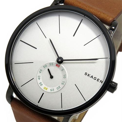 スカーゲン SKAGEN  クオーツ メンズ 腕時計 SKW6216 ホワイト ホワイト