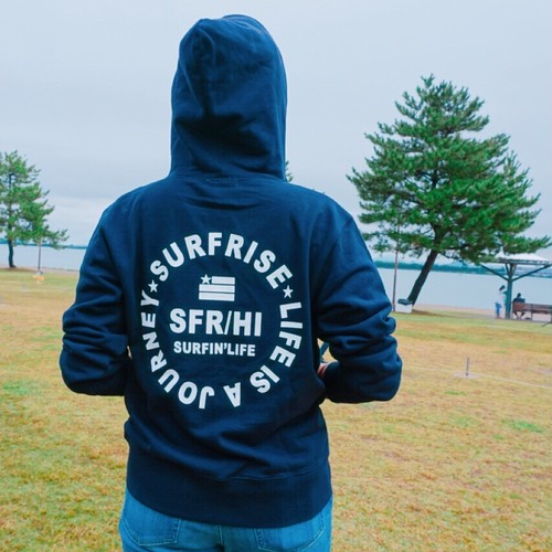 JOURNEY zip - Navy