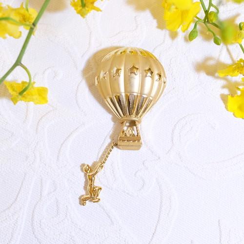""" AJC [エージェーシー] "" 60's-70's 気球(面白デザイン) ヴィンテージブローチ   [BV-218]"
