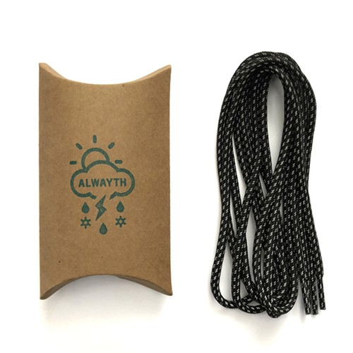 "Alwayth ""3M Shoe Lace #2"" BK [送料無料]"