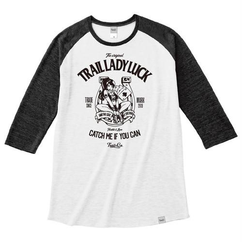 【販売終了】Tri Brend Raglan 3/4 Sleeve T-Shirt / TLL / White×Black