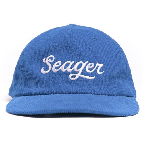 SEAGER #Big Blue Corduroy Snapback