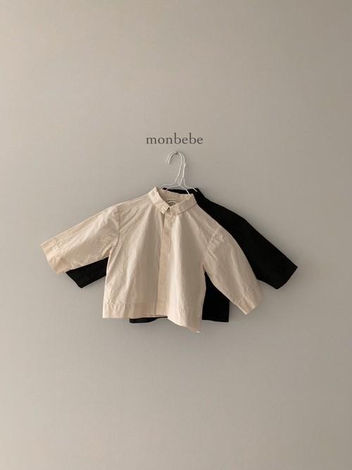 『翌朝発送』square shirt〈monbebe〉