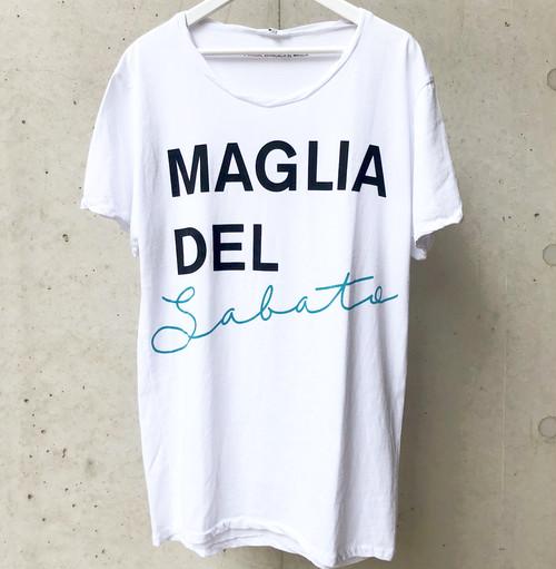 MAGLIA(マリア) T-1404 クルネック ホワイト