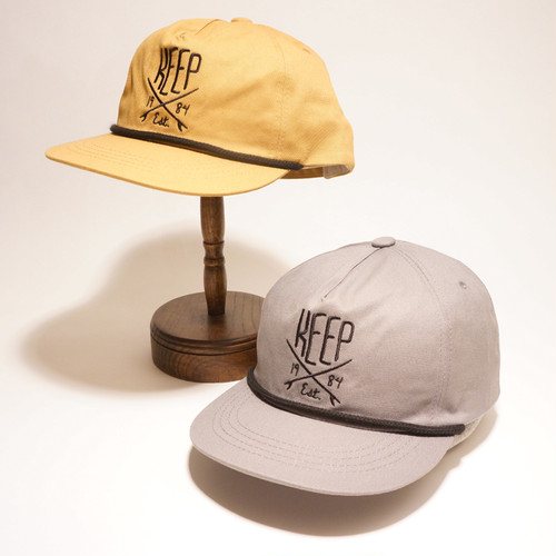 KEEP embroidery cap