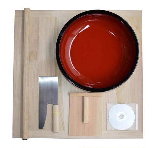 【レンタル】手打ち蕎麦セット