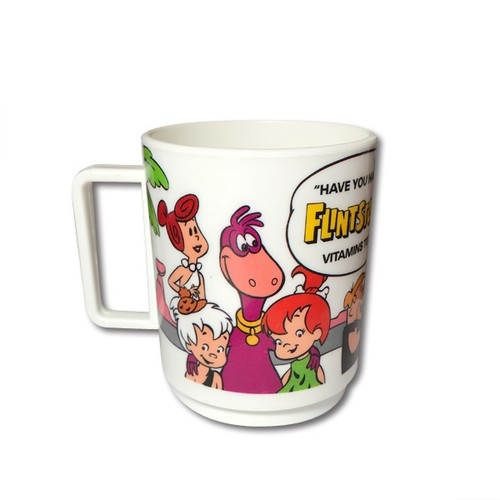 Flintstones / 80's Plastic cup