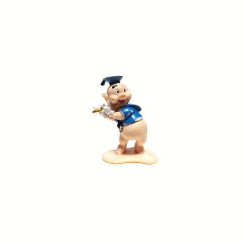 Disney Three Little Pigs Fiddler Toy