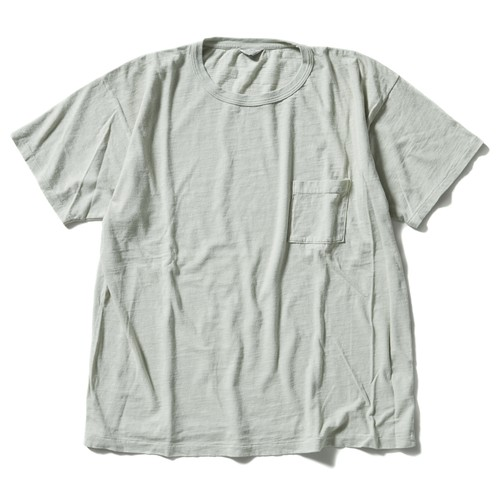 【FILL THE BILL】《UNISEX》SLAB POCKET TEE - MINT