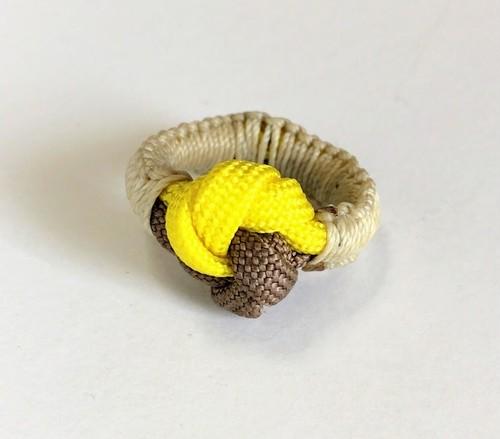 パラコード 指輪 paracord ring BY