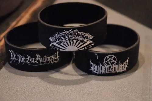 THY ART IS MURDER/FIT FOR AN AUTOPSY JAPAN TOUR WRISTBAND