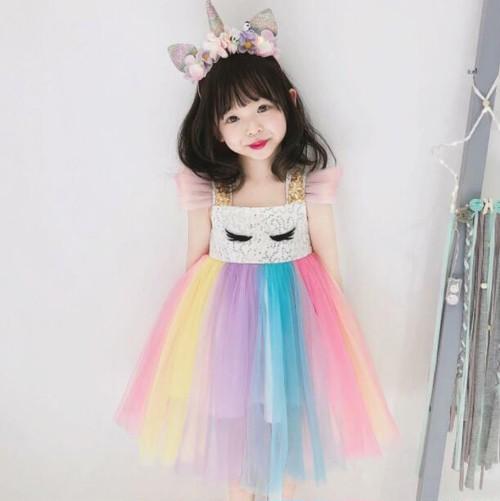 8422キッズドレス ジュニア 女の子ドレス子供用 発表会 結婚式七五三 フォーマル パーティー ワンピース 3-8才