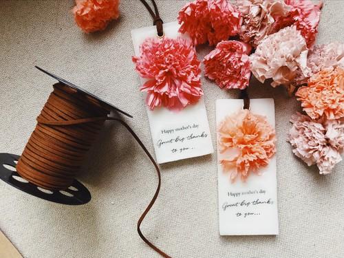 ○香りが選べる○母の日に贈るワックスサシェ55×130/candlemimosa