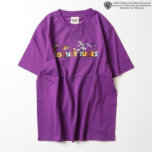 【ルーニーテューンズ】フロントロゴ プリントTシャツ NO0530100