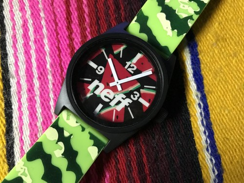 ※訳あり品【NEFF】DAILY WATCH (Watermelon)