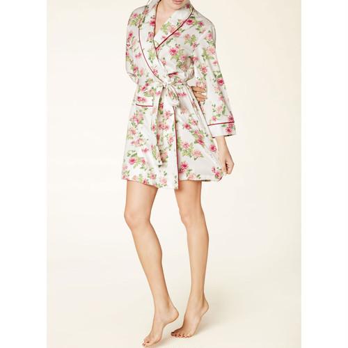 レディース ショート ローブ ガウン コットン BedHead Pajamas ベッドヘッドパジャマズ Dahlia