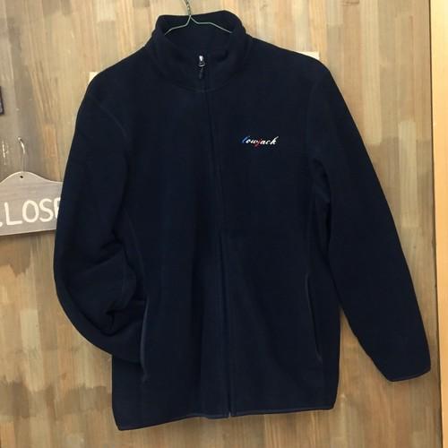 オリジナル ブラックフリースジャケット