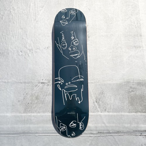 Hopps Skateboards / JAHMAL WILLIAMS  / DREAMER / NAVY / 8x31.6inch (20.32x80.3cm)