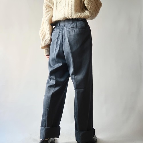 British army trousers / blue