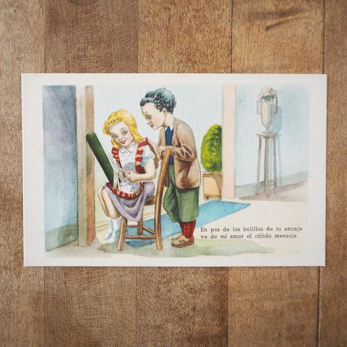 スペインのポストカード