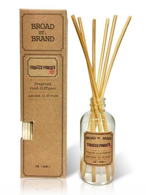TOBACCO POWDER REED DIFFUSER - BROAD STREET BRAND