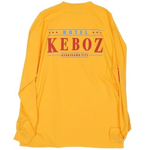 HOTEL KEBOZ L/S Tee Gold