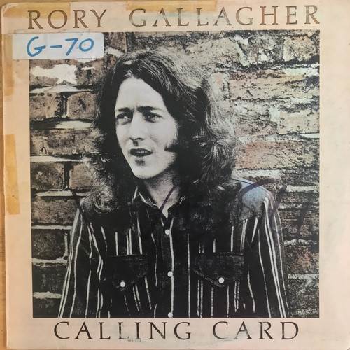 RORY GALLAGHER / CALLING CARD (1976)