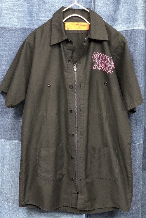 remake zip work shirt