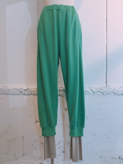 NEONGSIGN Sandwich Sweat Pants (GREEN)