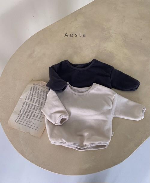 【予約販売】mini-roll T-shirt〈Aosta〉
