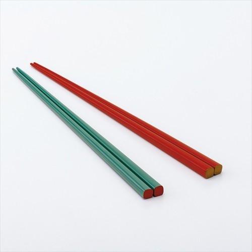 箸(モスグリーンとオレンジ)[0130212103]