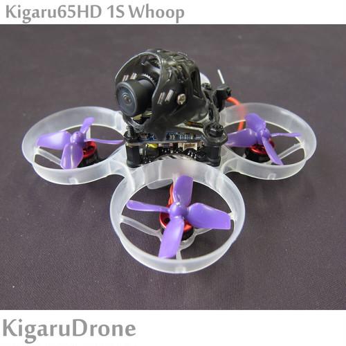 【Kigaru65HD 1S Whoop BNF】 65mm Brushless 1S FHDカメラ Rancum Spilit3 nano Whoop  S-FHSS (Frsky)