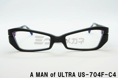 【公式取扱店】A MAN of ULTRA×BLACK ICE US-704F-C4、ウルトラセブン、メガネ、円谷プロ、ウルトラマン眼鏡、フレーム、アイスラッガー、コラボ、変身、ブルーライトカット、限定商品