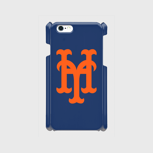 yh Mets iPhone6/6s/7 ケース (Blue×Orange)