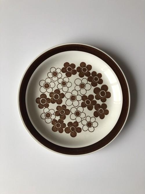 rorstland anemon plate brown 24cm A