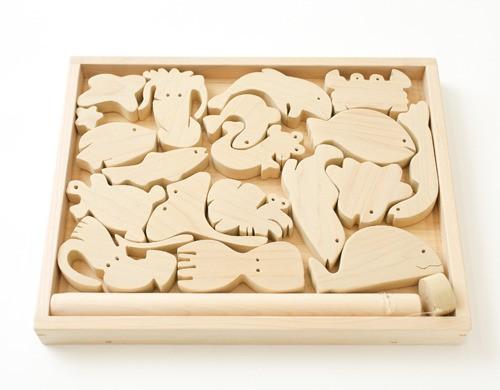 動物パズル(水族館)※磁石付