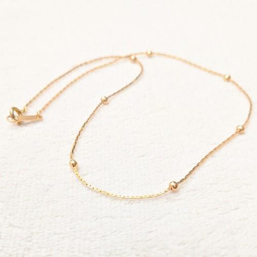 vintage necklace -design slim chain-