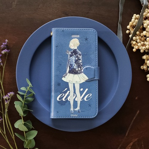 iPhone case:étoile(手帳型)