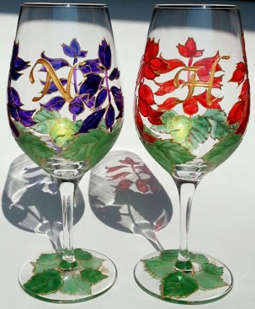 【サルビア】ワイングラス1個 母の日・還暦祝い・父の日・両親贈呈品・結婚祝い・新居祝い・結婚記念日ギフト