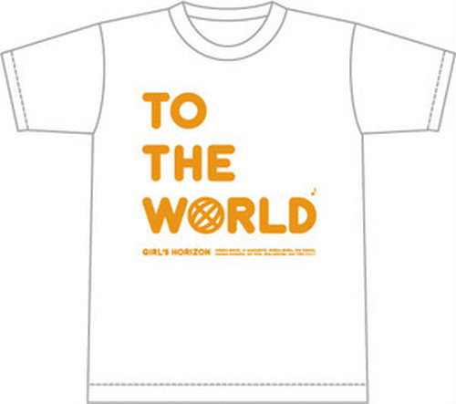 【Tシャツ】 TO THE WORLD