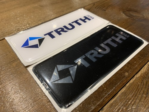 TRUTH JAPAN urethane resin original STICKER