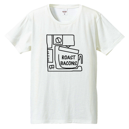 [Tシャツ] Roast Bacons (coffee maker)