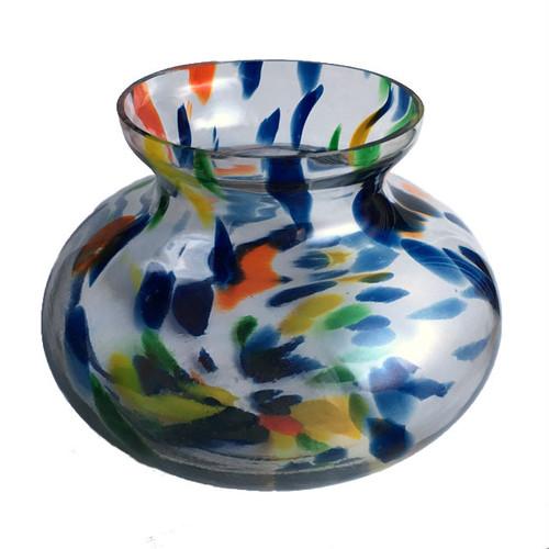 カラフル金魚鉢