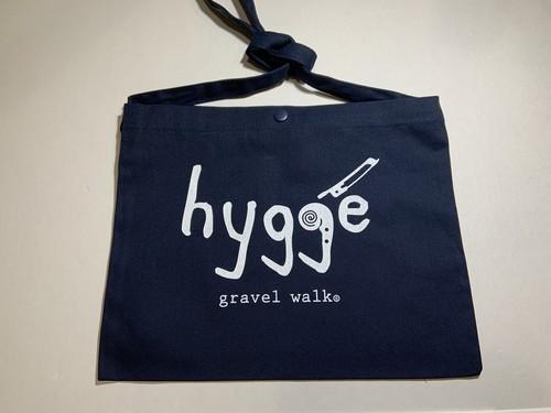 【ロゴ大】サコッシュバッグ Hygge ネイビー